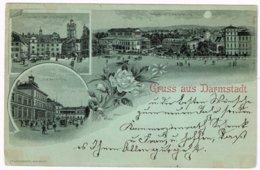 Allemagne - Darmstadt - Carte Envoyée De Darmstadt à Malines Le 30/12/1898 - Darmstadt