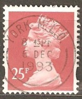 Great Britain: 1 Used Stamp From A Set, 1993, Mi#1475CS(2) - Machins