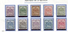 Reunion * Taxe 16 à 25 - Réunion (1852-1975)