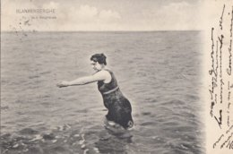 BLANKENBERGE / BAIGNEUSE / BAADSTER  / BADMODE 1909 - Blankenberge