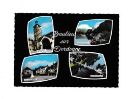 Circulé Ancien CPA PHOTO Timbre Armoirie Monts De Marsan 1968 Beaulieu Sur Dordogne St Pierre Général Marbot Pont - France