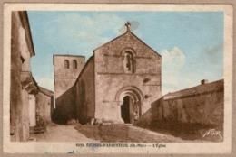 17 / EGLISES-D'ARGENTEUIL - Eglise Romane St-Vivien Et Abords - Autres Communes