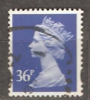 Great Britain: 1 Used Stamp From A Set, 1993, Mi#1477 - Série 'Machin'