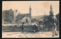 JEMELLE  L'EGLISE VUE DE LA ROUTE DE ROCHEFORT - Rochefort