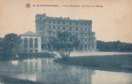 BLANKENBERGE /  NORMAALSCHOOL / PARK EN VIJVER - Blankenberge