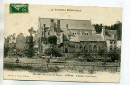 22 LEHON Eglise Du Village Et Cloitre 1904 Dos Non Divisé -180 Bis Waron La Bretagne Pittoresque      /D06-2017 - France
