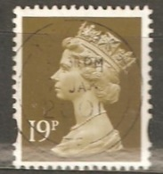 Great Britain: 1 Used Stamp From A Set, 1994, Mi#1528 - Série 'Machin'