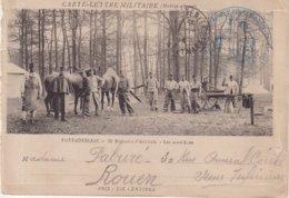 """FRANCE : CARTE LETTRE FM . ( INCOMPLETE ) . DU """" 32 Eme RA DE FONTAINEBLEAU """" . 1914 . - Oorlog 1914-18"""