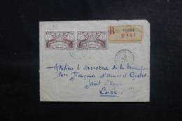 GUADELOUPE - Enveloppe De Basse Terre Pour La Manufacture D'Armes De St Etienne Par Avion En 1945 - L 47943 - Lettres & Documents