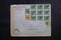 EGYPTE - Enveloppe Commerciale Du Caire Pour La France, Affranchissement Plaisant - L 47945 - Briefe U. Dokumente