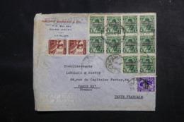 EGYPTE - Enveloppe Commerciale Du Caire Pour La France, Affranchissement Plaisant - L 47946 - Briefe U. Dokumente