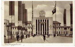 DÜSSELDORF - Grosse Reihsausstellung Schlageterstadt 1937 - Empfangsgebäude - 3e Reich - Duesseldorf