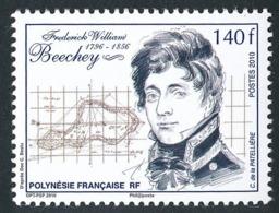 POLYNESIE 2010 - Yv. 905 **   Faciale= 1,18 EUR - FW Beechey, Navigateur Et Explorateur  ..Réf.POL24872 - Polynésie Française