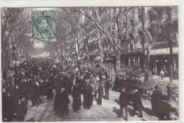 Barcelona - Rambla De Las Estudios - 1907        (A-133-190422) - Barcelona