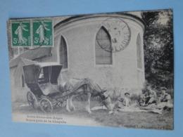 CLICHY Sous BOIS -- Pique-nique Près De La Chapelle De Notre-Dame Des Anges - Attelage ânier - ANIMEE - Donkeys