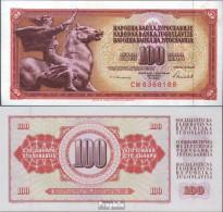 Jugoslawien Pick-Nr: 90c Bankfrisch 1986 100 Dinara - Jugoslawien