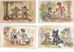 Illustration Germaine BOURET - Lot De 41 CPA - Toutes Scannées - Bouret, Germaine