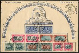 1949 South Africa Pretoria Voortrekker Monument Inauguration Cover. 1938 Voortrekker Centenary Set - South Africa (...-1961)