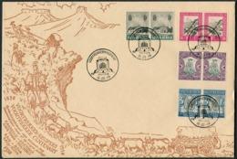 1949 South Africa Pretoria Voortrekker Monument Inauguration Cover. 1933-6 Voortrekker Memorial Fund - South Africa (...-1961)
