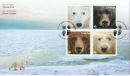 Canada  First Day Issue Envelope July  2019 Envelope  Bears Ours  4 Timbres 4 Stamps - 2011-...