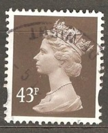 Great Britain: 1 Used Stamp From A Set, 1996, Mi#1635CS(3) - Série 'Machin'