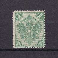 Bosnien-Herzegowina - Österreichische Besetzung - 1884 - Michel Nr. 3 I G - Gez. 12 1/2 - 45 Euro - Bosnien-Herzegowina