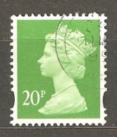 Great Britain: 1 Used Stamp From A Set, 1996, Mi#1630 - Série 'Machin'
