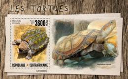 Central Africa 2019 Turtles Fauna Turtle S/S CA190801 - Sin Clasificación