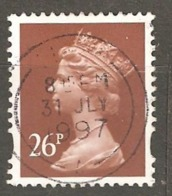Great Britain: 1 Used Stamp From A Set, 1996, Mi#1639 - Série 'Machin'