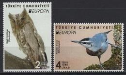 Turkey (2019) - Set -   /   Europa CEPT Europe - Birds - Aves - Oiseaux - Owl - 2019