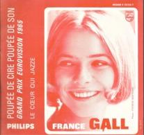 """SP 45 RPM (7"""")  France Gall / Serge Gainsbourg  """"  Poupée De Cire Poupée De Son  """" - Non Classés"""