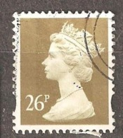 Great Britain: 1 Used Stamp From A Set, 1997, Mi#1690 - Série 'Machin'