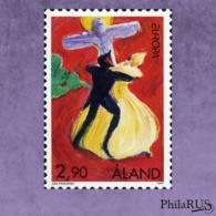Aland 1997 Mi.128 Europe.Tales And Legends./1v (MNH **) - Aland
