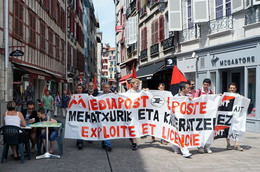 - 64 - Bayonne (64) - Carte Postale Moderne - Manifestant  - 7.489 - Bayonne