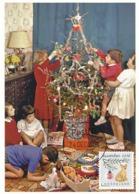 D38643 CARTE MAXIMUM CARD 2018 NETHERLANDS - CHRISTMAS TREE AND DECORATION - POSTMARK 24 DECEMBER 2018! CP ORIGINAL - Christmas