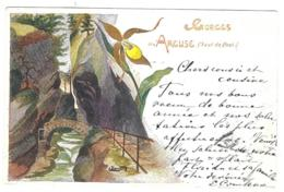 GORGES De L' ARCUSE ( Saut De Brot ) ( Illustrateur: Bernard ) Cachet 1899 - NE Neuchâtel
