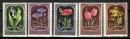 Hungary 1951 Hungría / Flowers MNH Flores Blumen Fleurs / Cu15033  23-30 - Vegetales