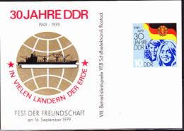 DDR GDR RDA -30 Jahre DDR (Mi.Nr. 2459) 1979 Karte  !lesen/read/lire! - Cartas