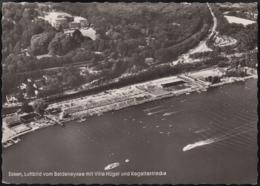 D-45121 Essen - Baldeneysee Mit Villa Hügel Und Bahnstation - Luftbild - Aerial View - Essen
