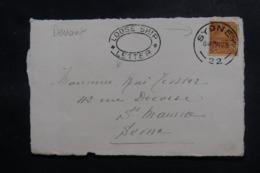 NOUVELLE CALÉDONIE - Oblitération De Sydney Sur Devant D'enveloppe En 1925 Pour La France - L 47977 - Nieuw-Caledonië
