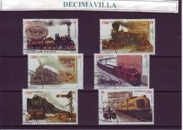 TRANSPORTES, TRENES CON HISTORIA, CUBA, 2016, L172 - Trenes