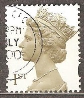 Great Britain: 1 Used Stamp From A Set, 2000, Mi#1843CS - Série 'Machin'