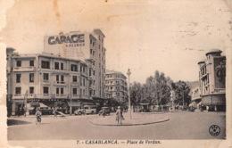 MAROC CASABLANCA Place De Verdun 21(scan Recto-verso) MA1356 - Casablanca