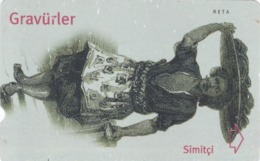 Turkey, N-200, Engravings, Simitçi, 2 Scans. - Turquie