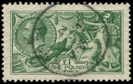 GRANDE BRETAGNE 156 : 1p. Vert, Obl., TB - 1840-1901 (Victoria)