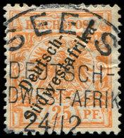 AFRIQUE DU SUD-OUEST ALLEMAND 11 : 25pf. Orange, Obl., TB - Colony: German South West Africa