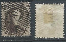 R: Nr 14 Médaillon Dentelé Oblitération De Distribution D100 Gerpinnes - 1863-1864 Medallions (13/16)