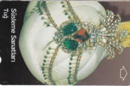 Turkey, N-209, Decoration Arts, Ottoman Head-dress, 2 Scans. - Turquie