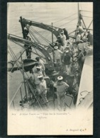 CPA - MARINE - A Bord Du NEPTUNE - A Hisser L'Ancre, Très Animé  (dos Non Divisé) - Guerre