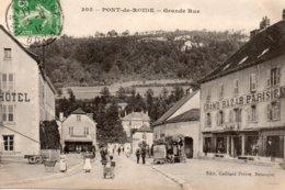 Pont De  Roide -   Grande  Rue. - Francia